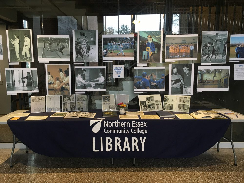 NECC table displaying photos and archives