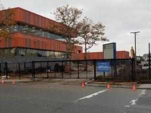 dimitry building parking lot