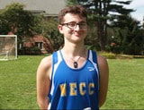 Picture of John Miller in a track uniform